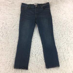 LOFT Slim Jeans Size 31/12 Medium Wash